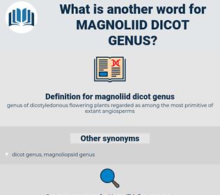 magnoliid dicot genus, synonym magnoliid dicot genus, another word for magnoliid dicot genus, words like magnoliid dicot genus, thesaurus magnoliid dicot genus