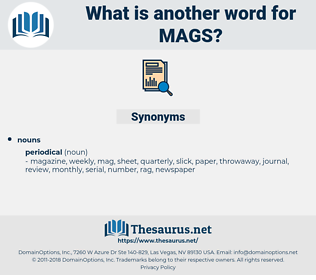 MAGS, synonym MAGS, another word for MAGS, words like MAGS, thesaurus MAGS