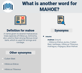 mahoe, synonym mahoe, another word for mahoe, words like mahoe, thesaurus mahoe