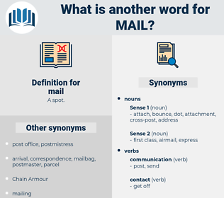mail, synonym mail, another word for mail, words like mail, thesaurus mail