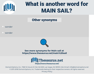 main sail, synonym main sail, another word for main sail, words like main sail, thesaurus main sail