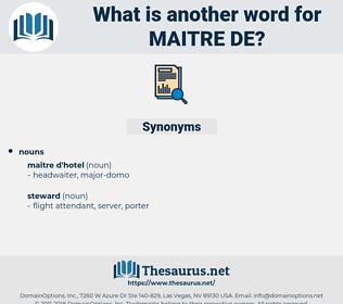 maitre de, synonym maitre de, another word for maitre de, words like maitre de, thesaurus maitre de