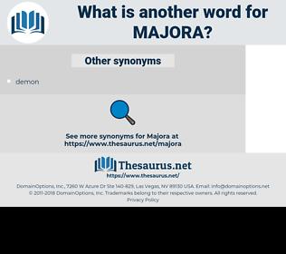 majora, synonym majora, another word for majora, words like majora, thesaurus majora