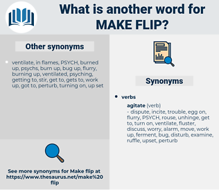 make flip, synonym make flip, another word for make flip, words like make flip, thesaurus make flip