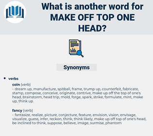 make off top one head, synonym make off top one head, another word for make off top one head, words like make off top one head, thesaurus make off top one head
