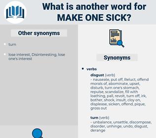 make one sick, synonym make one sick, another word for make one sick, words like make one sick, thesaurus make one sick