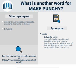 make punchy, synonym make punchy, another word for make punchy, words like make punchy, thesaurus make punchy