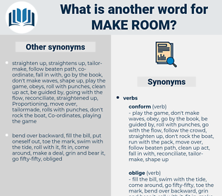 make room, synonym make room, another word for make room, words like make room, thesaurus make room