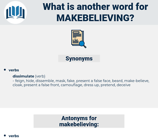makebelieving, synonym makebelieving, another word for makebelieving, words like makebelieving, thesaurus makebelieving