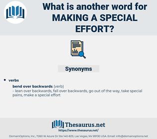 making a special effort, synonym making a special effort, another word for making a special effort, words like making a special effort, thesaurus making a special effort