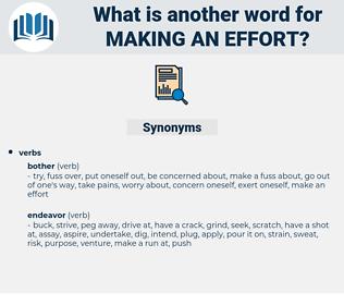 making an effort, synonym making an effort, another word for making an effort, words like making an effort, thesaurus making an effort