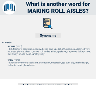 making roll aisles, synonym making roll aisles, another word for making roll aisles, words like making roll aisles, thesaurus making roll aisles