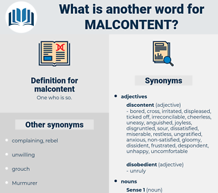 malcontent, synonym malcontent, another word for malcontent, words like malcontent, thesaurus malcontent