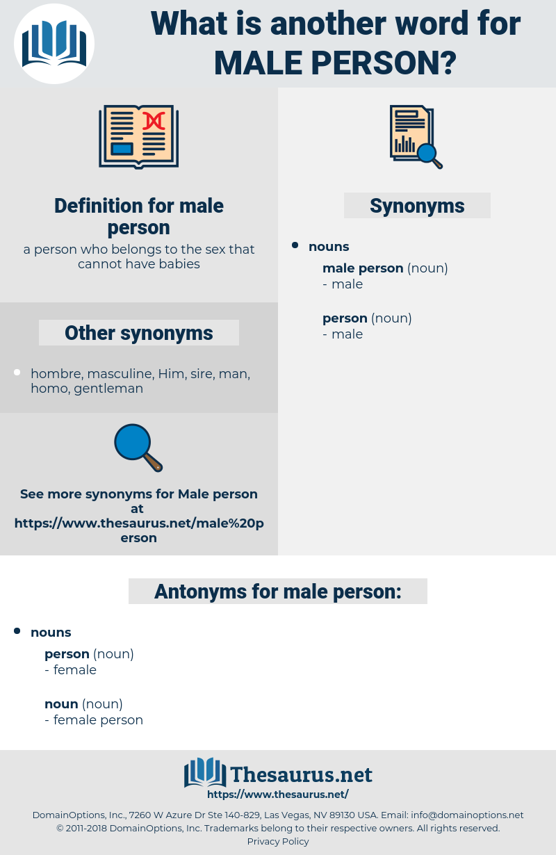 male person, synonym male person, another word for male person, words like male person, thesaurus male person