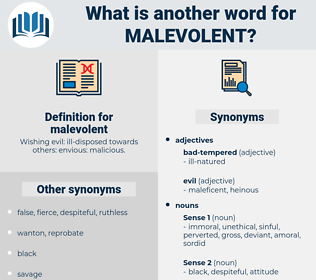 malevolent, synonym malevolent, another word for malevolent, words like malevolent, thesaurus malevolent