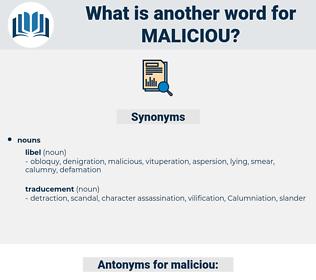 maliciou, synonym maliciou, another word for maliciou, words like maliciou, thesaurus maliciou