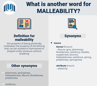 malleability, synonym malleability, another word for malleability, words like malleability, thesaurus malleability