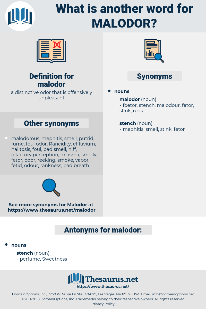 malodor, synonym malodor, another word for malodor, words like malodor, thesaurus malodor