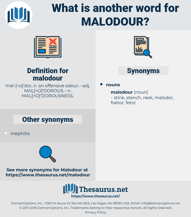 malodour, synonym malodour, another word for malodour, words like malodour, thesaurus malodour