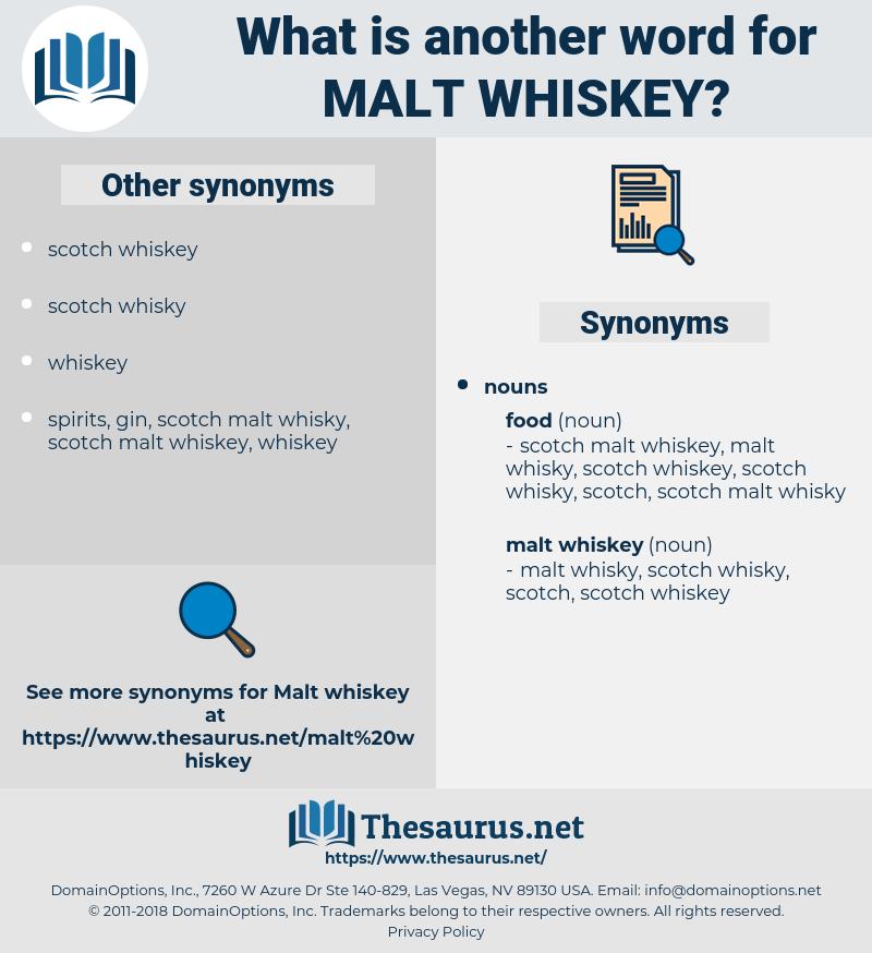 malt whiskey, synonym malt whiskey, another word for malt whiskey, words like malt whiskey, thesaurus malt whiskey