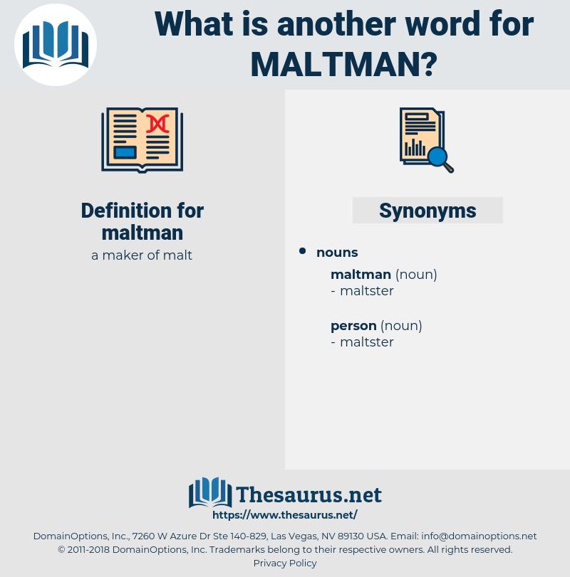 maltman, synonym maltman, another word for maltman, words like maltman, thesaurus maltman