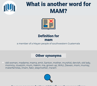 mam, synonym mam, another word for mam, words like mam, thesaurus mam