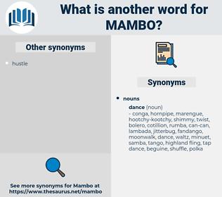 mambo, synonym mambo, another word for mambo, words like mambo, thesaurus mambo