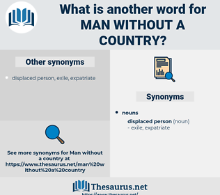 man without a country, synonym man without a country, another word for man without a country, words like man without a country, thesaurus man without a country