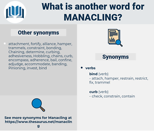 Manacling, synonym Manacling, another word for Manacling, words like Manacling, thesaurus Manacling