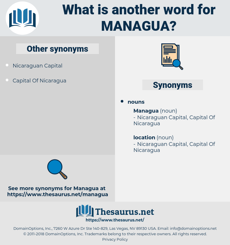 managua, synonym managua, another word for managua, words like managua, thesaurus managua