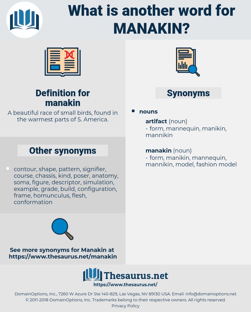 manakin, synonym manakin, another word for manakin, words like manakin, thesaurus manakin
