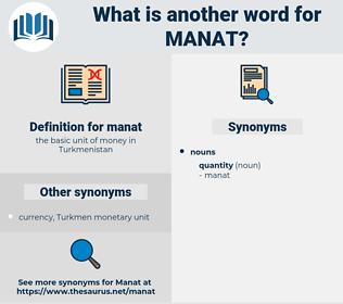 manat, synonym manat, another word for manat, words like manat, thesaurus manat