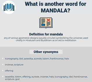 mandala, synonym mandala, another word for mandala, words like mandala, thesaurus mandala