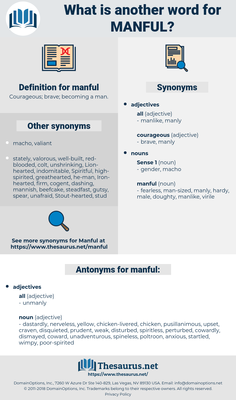 manful, synonym manful, another word for manful, words like manful, thesaurus manful