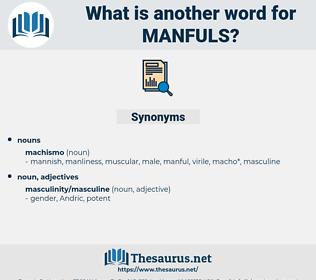 manfuls, synonym manfuls, another word for manfuls, words like manfuls, thesaurus manfuls