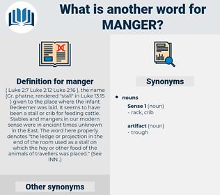 manger, synonym manger, another word for manger, words like manger, thesaurus manger