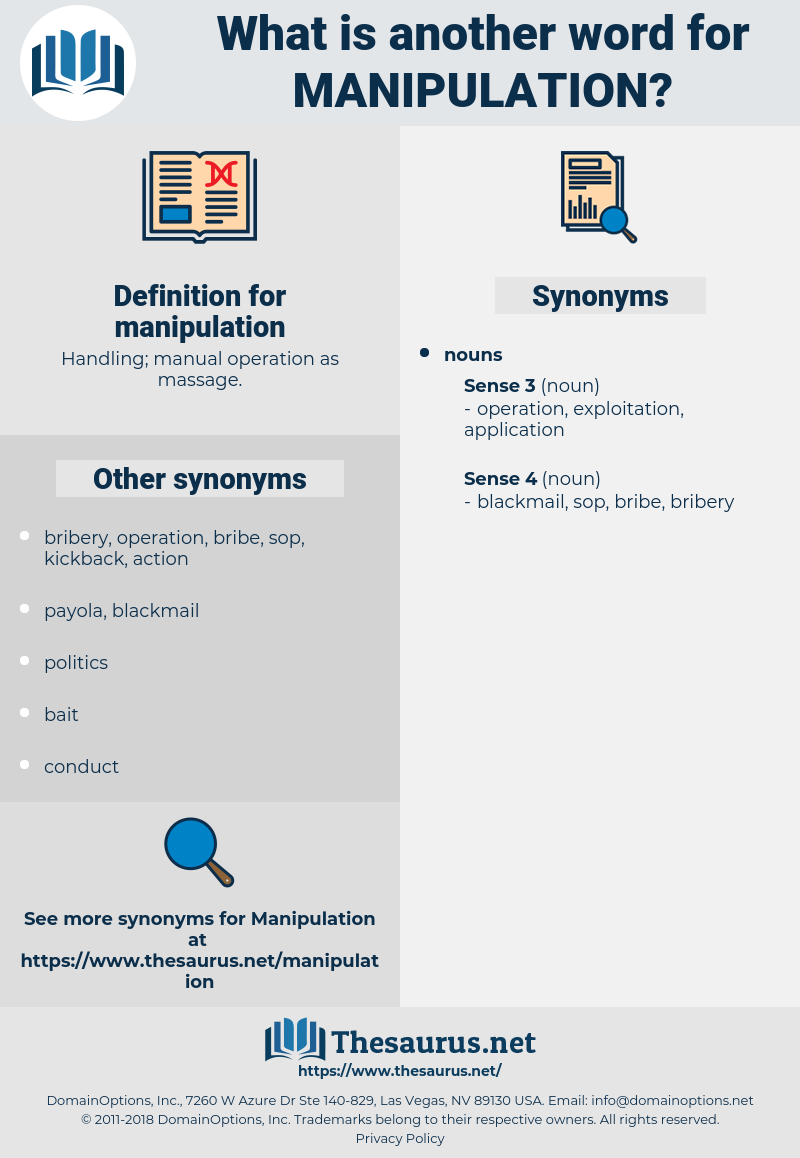 manipulation, synonym manipulation, another word for manipulation, words like manipulation, thesaurus manipulation