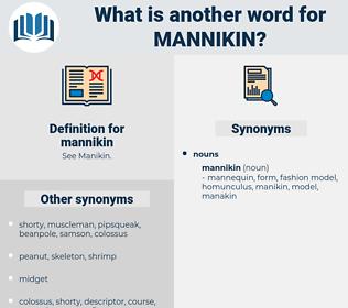 mannikin, synonym mannikin, another word for mannikin, words like mannikin, thesaurus mannikin