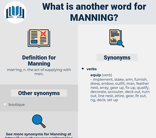 Manning, synonym Manning, another word for Manning, words like Manning, thesaurus Manning