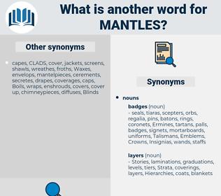 mantles, synonym mantles, another word for mantles, words like mantles, thesaurus mantles