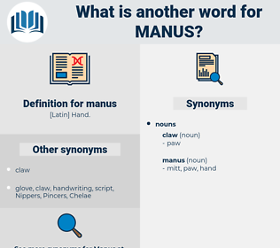 manus, synonym manus, another word for manus, words like manus, thesaurus manus