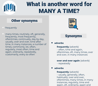 many a time, synonym many a time, another word for many a time, words like many a time, thesaurus many a time