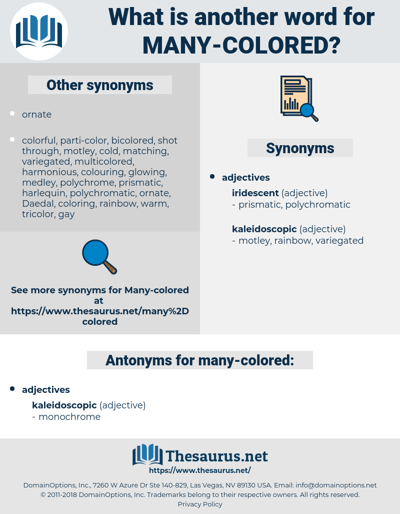 many-colored, synonym many-colored, another word for many-colored, words like many-colored, thesaurus many-colored