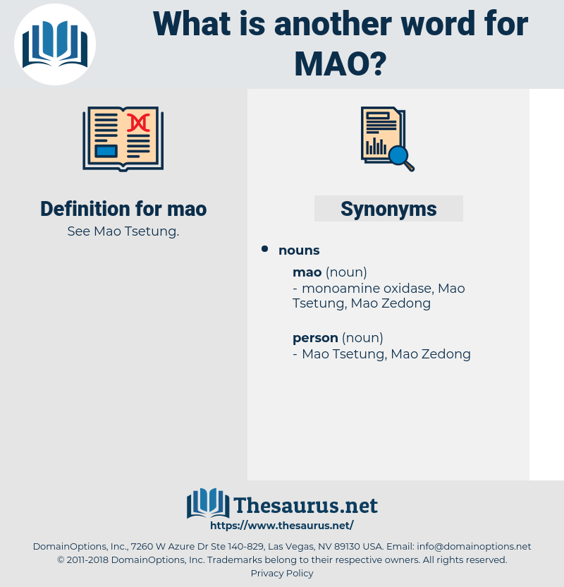mao, synonym mao, another word for mao, words like mao, thesaurus mao
