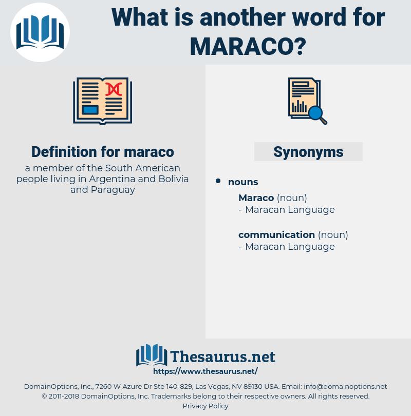 maraco, synonym maraco, another word for maraco, words like maraco, thesaurus maraco