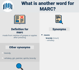 marc, synonym marc, another word for marc, words like marc, thesaurus marc