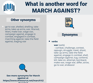 march against, synonym march against, another word for march against, words like march against, thesaurus march against