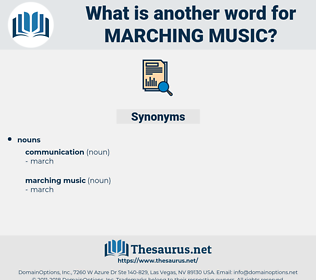 marching music, synonym marching music, another word for marching music, words like marching music, thesaurus marching music