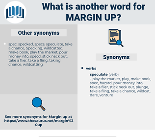 margin up, synonym margin up, another word for margin up, words like margin up, thesaurus margin up