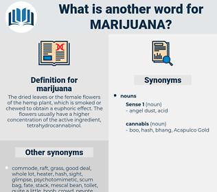 marijuana, synonym marijuana, another word for marijuana, words like marijuana, thesaurus marijuana